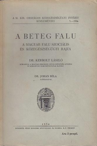 Helyzetkép a magyar falu egészségügyéről, 1934.