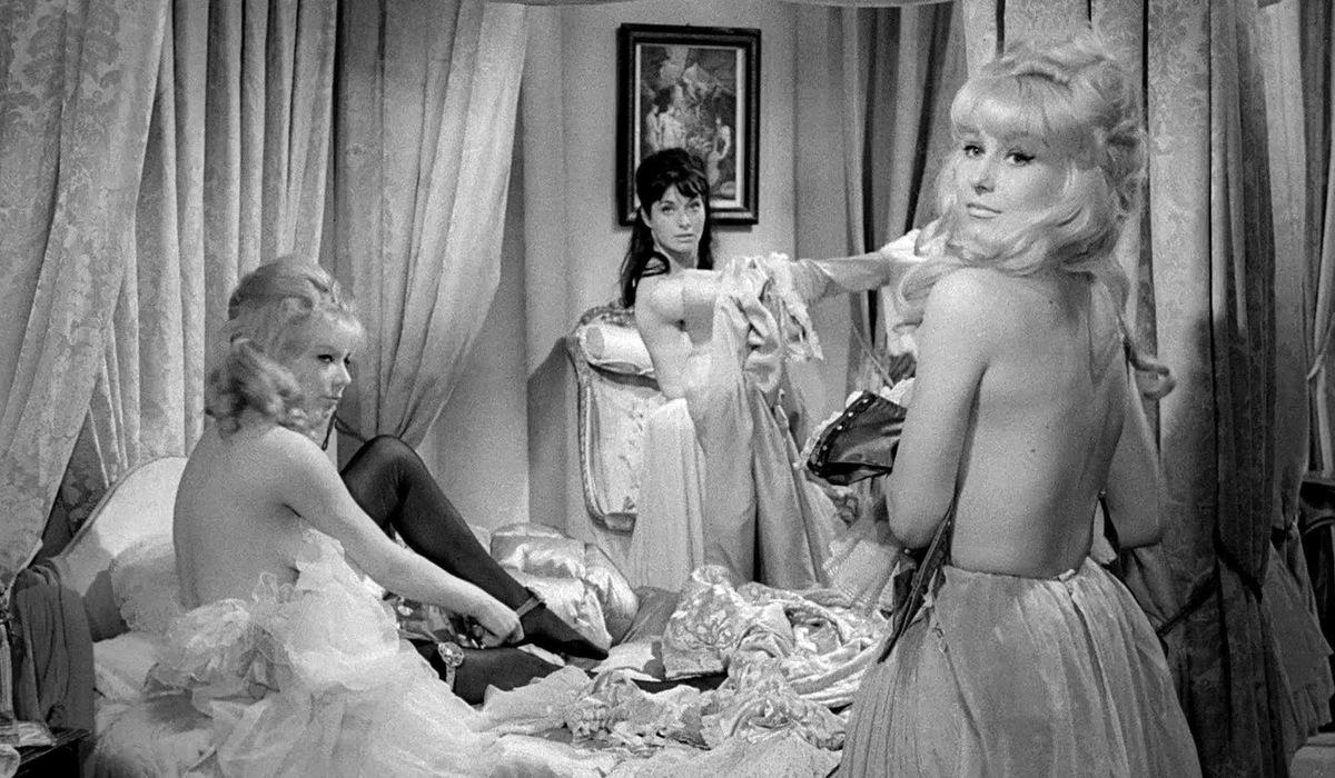 Fanny Hill. Jelenet Russ Meyer filmjéből