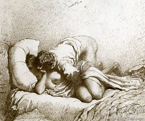 Zichy Mihály erotikus rajza a cári udvar számára