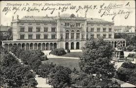 Az Albertus Egyetem Königsbergben