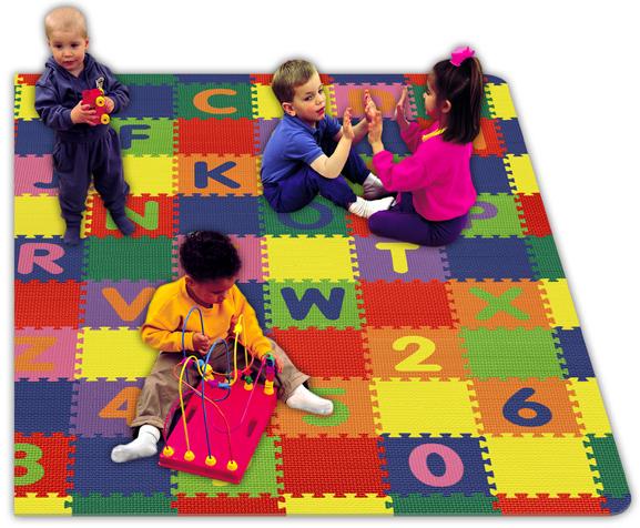 Rubber Children's Flooring