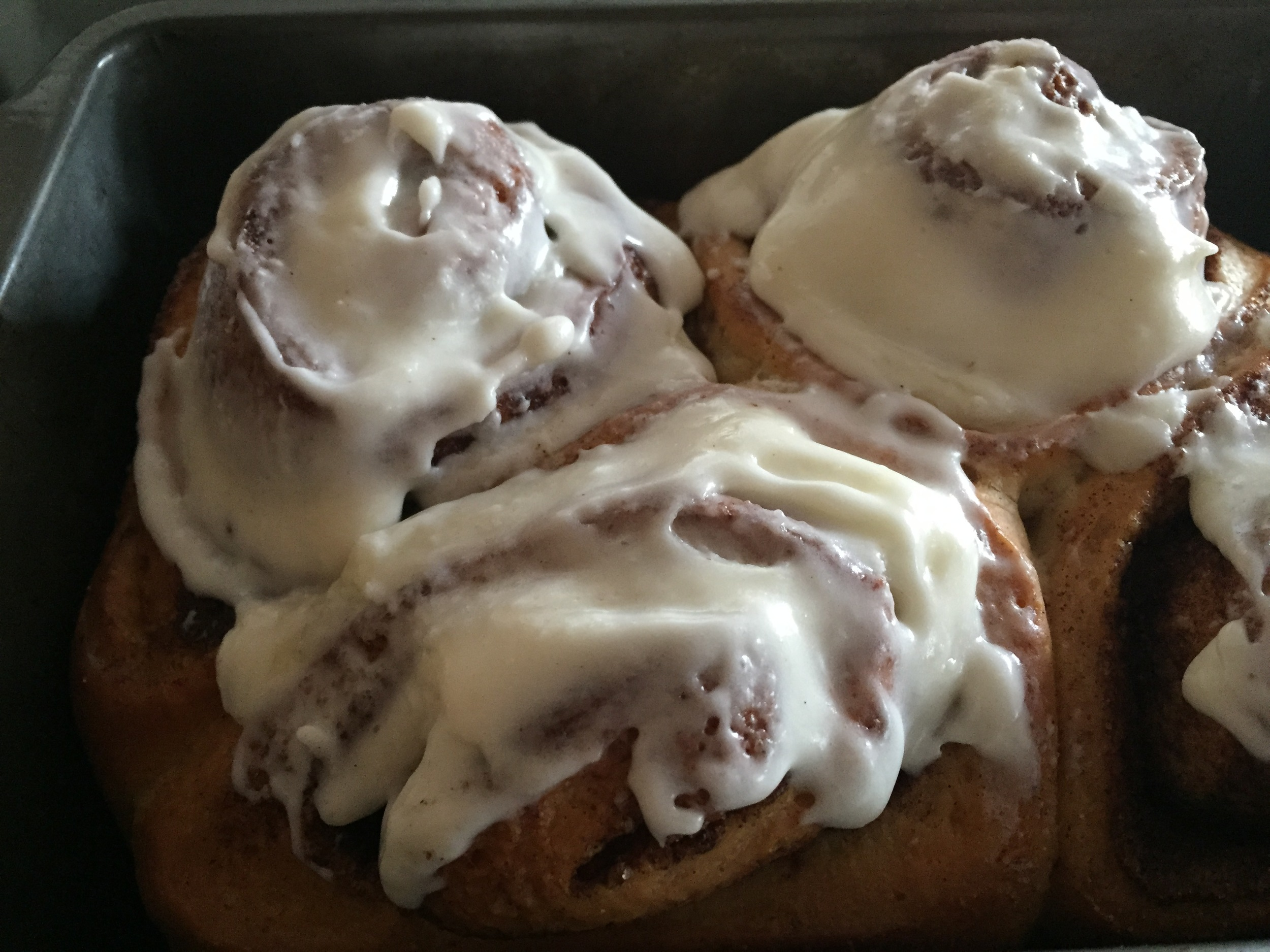 Cinnabuns with Cream Cheese Icing