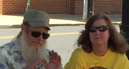 PINCH HITTERS, PARADE PERFORMERS:  KENT and MICHELLE