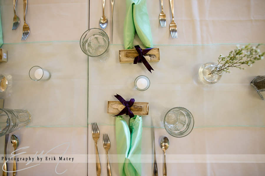 details at wedding at bald eagle state park
