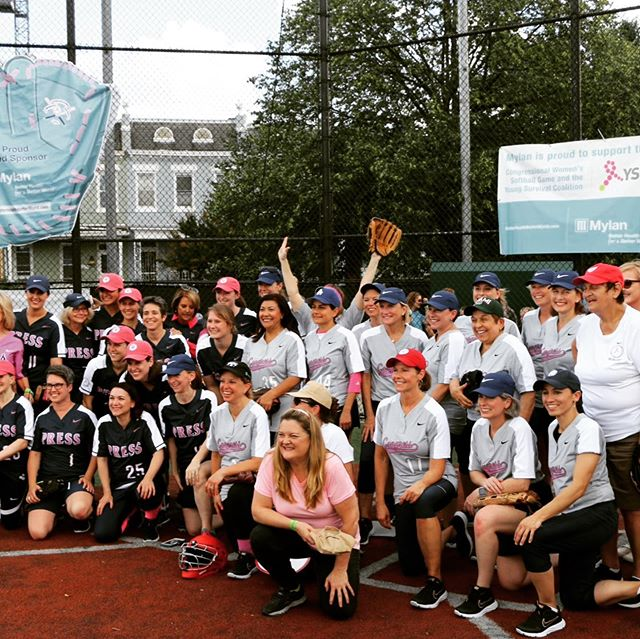 TBP was honored to support the Young Survival Coalition at the 11th Annual Congressional Women's Softball Match! #youngsurvivalcoalition #thebodiceproject #breastcancerawareness #breastcancersurvivor #breastcancerart #breastcancerfight #breastcancersupport #congressionalwomenssoftballgame