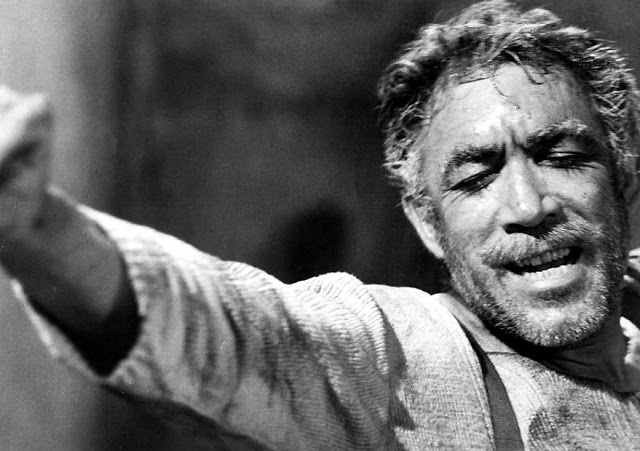 Anthony Quinn as Zorbas the Greek
