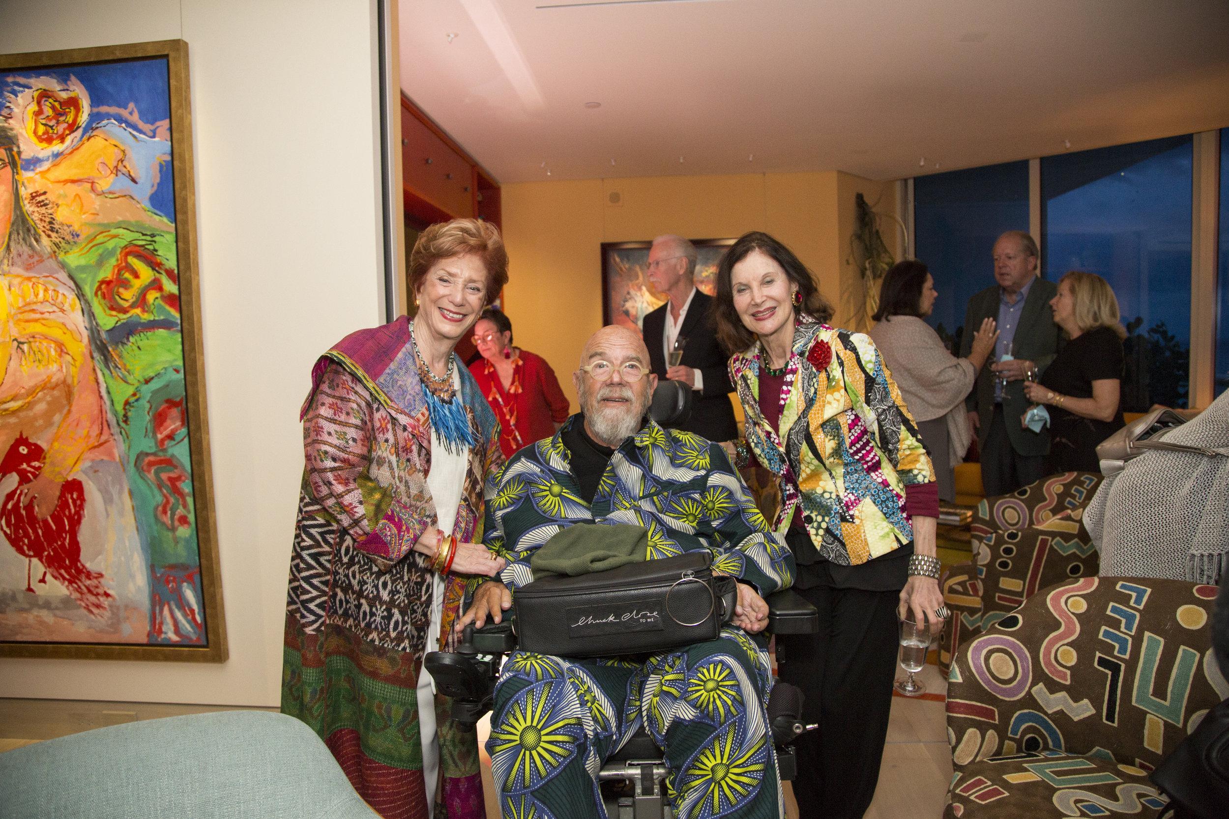 Shelley Rubin & Chuck Close