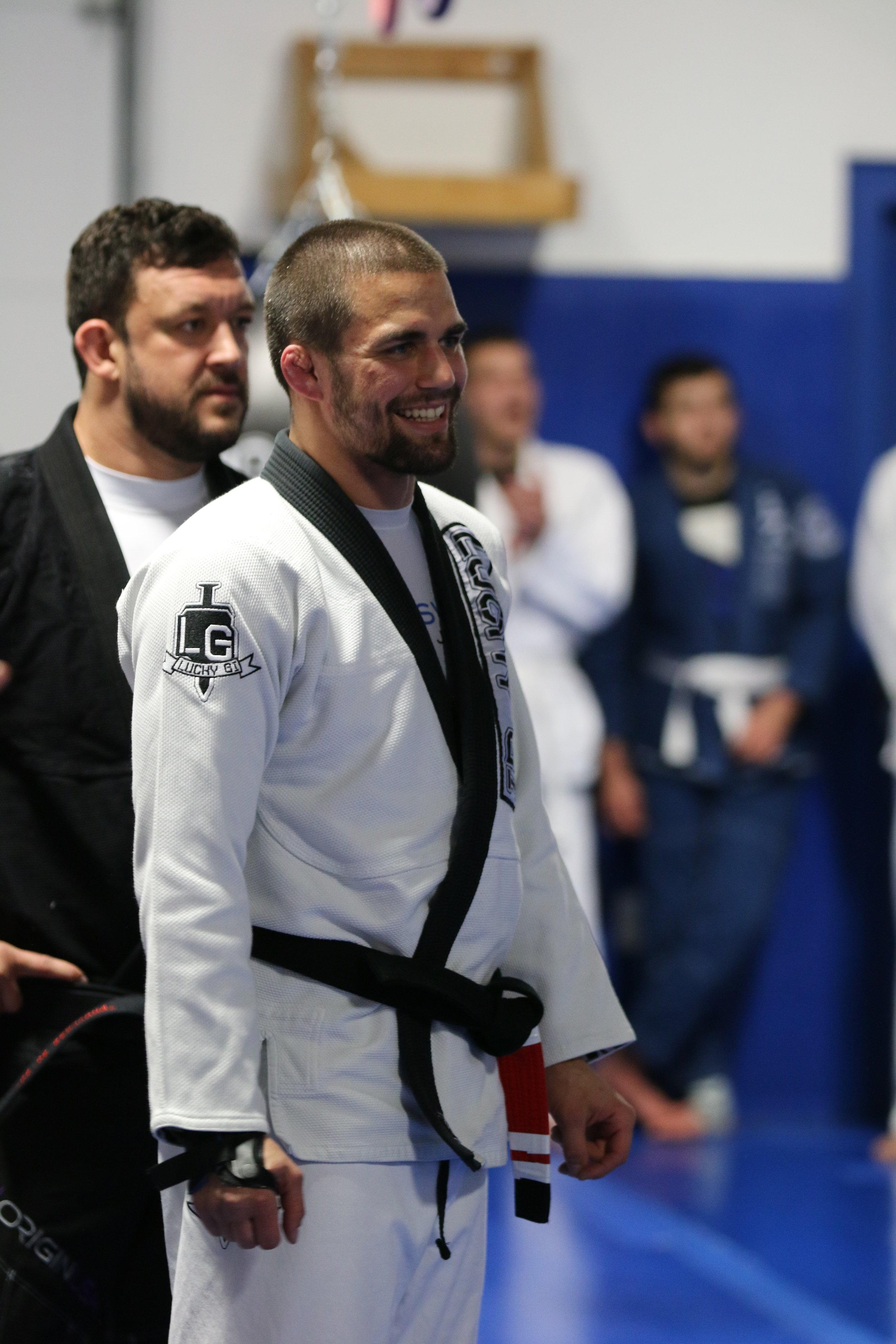 Garry Tonon, BJJ Black Belt in Gi