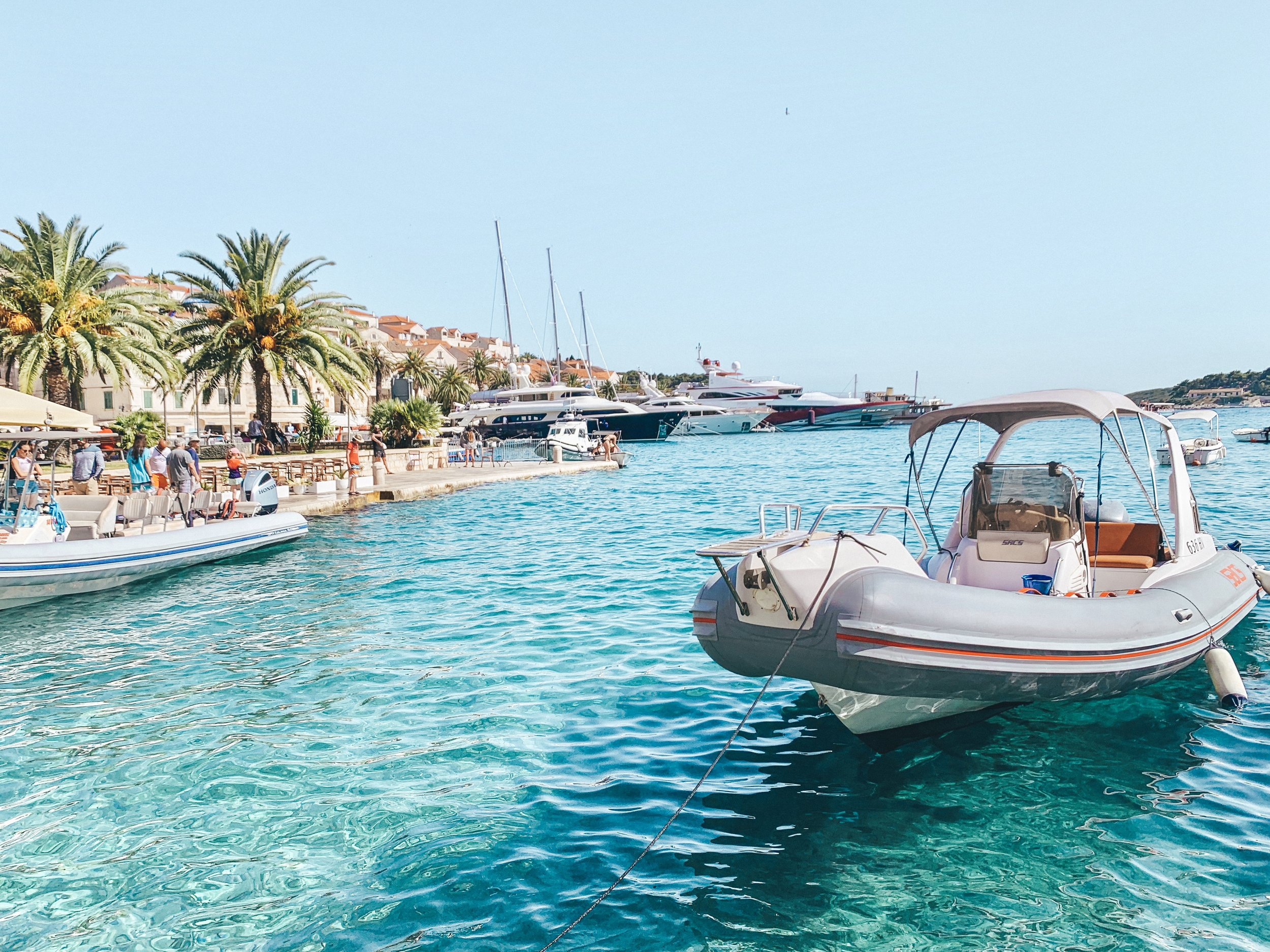 Clear turquoise waters matched only by equally beautiful villages, makes Hvar one of those places you can't miss while visiting Croatia.