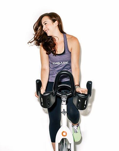 - In my pre-fitness life, I was a dancer + actor + writer + worked in the music industry + had agreat time DJing off my laptop decks in bars in Brooklyn. I found the bike in the early days of the premier indoor cycle studio in NYC — as a rider. As a consumer starting in 2007, I watched the humble beginnings of NYC's Boutique Fitness Craze, that the rest of the world now wishes to emulate. Years later, I made the leap from rider to teacher, and completed the competitive teachertraining with the company where I first found the bike. Afterwards, I was certified + learned how to ride an indoor bike from Schwinn.