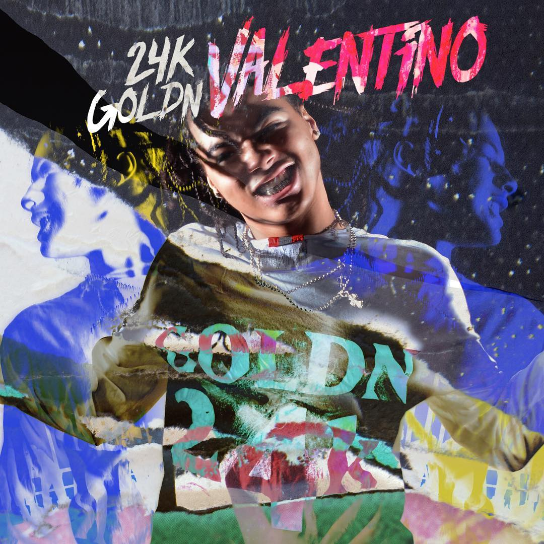 24K Goldn 'Valentino' Campaign by Phil Knott