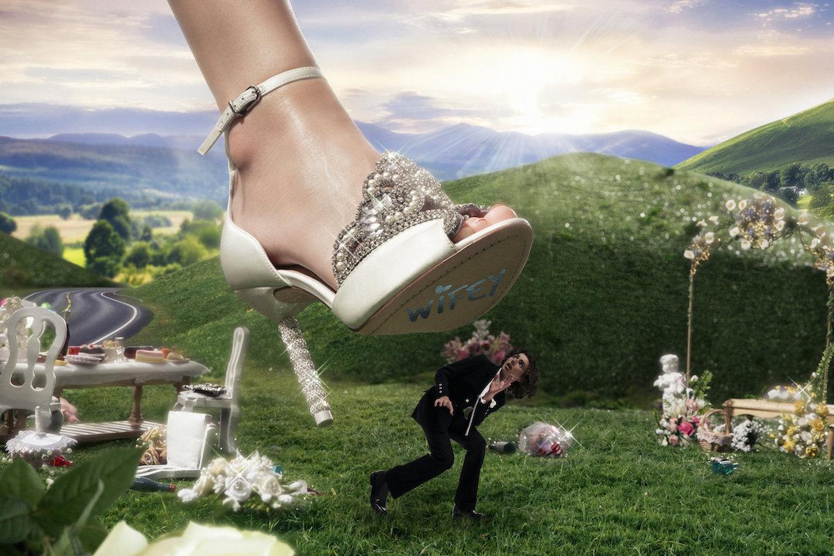 Sophia Webster 'Wedding Crushers' Campaign by Hannah Diamond