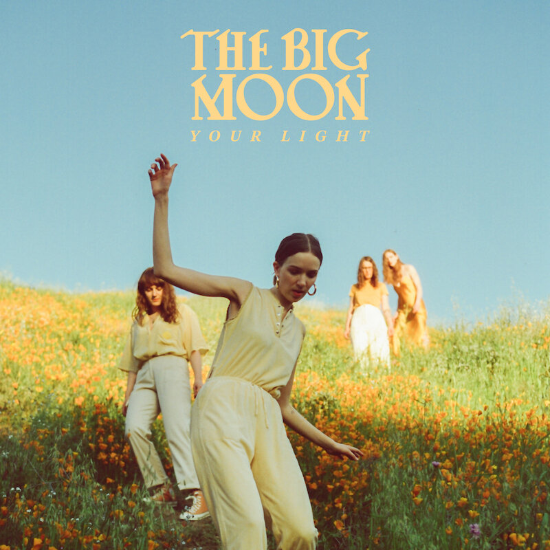 The Big Moon Single Cover and Press Shots