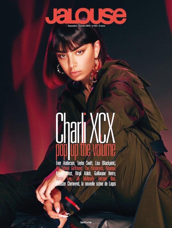 Charlie XCX Cover For Jalouse Magazine By Hannah Diamond