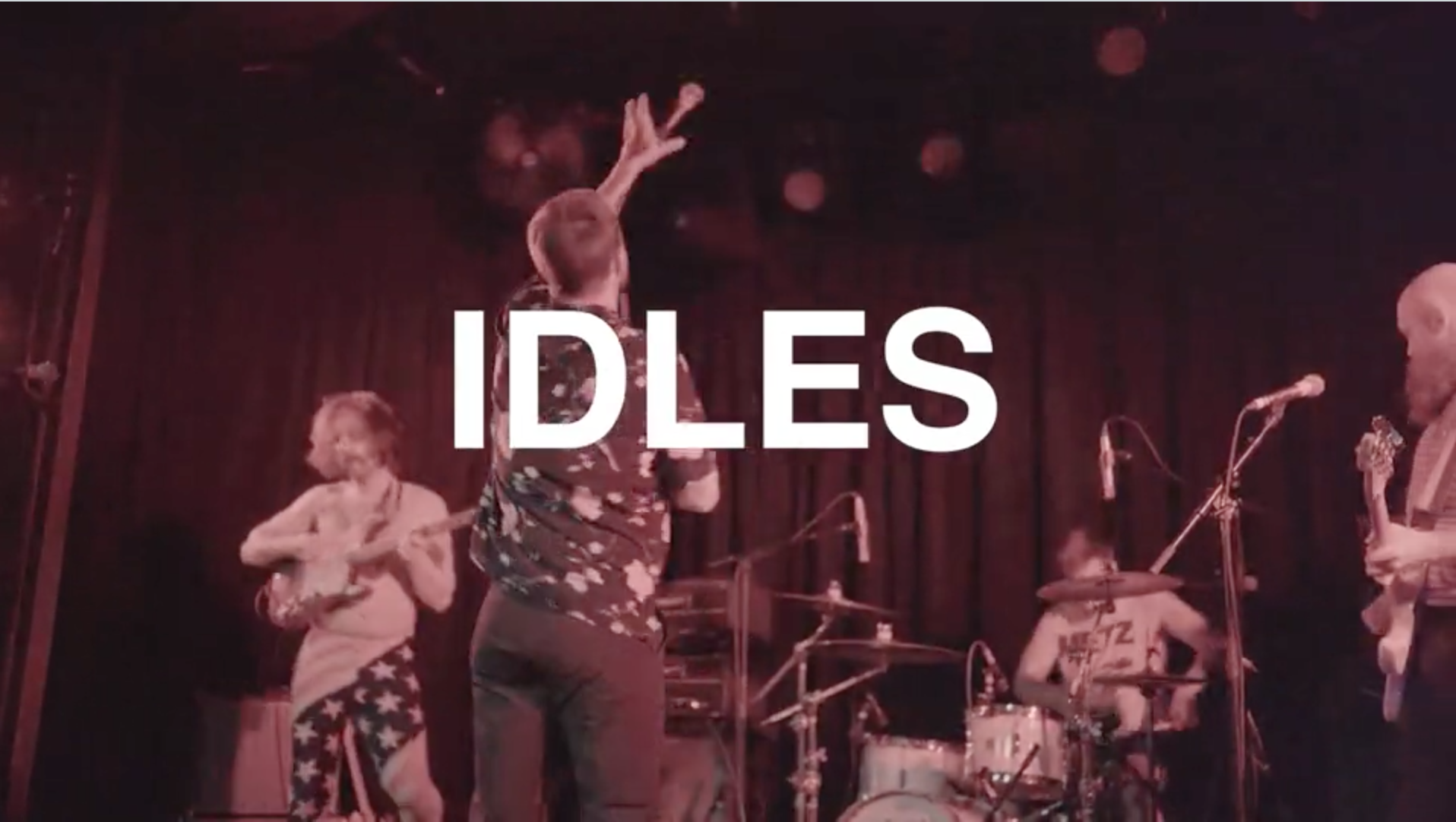 Idles American Tour Promo Video by Pooneh Ghana