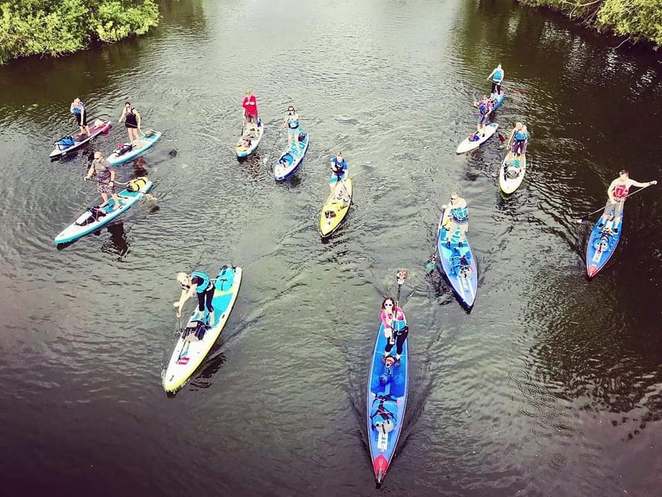Wye100 Adventure. 4 days self supported. 100 miles. Stand Up Paddleboarding