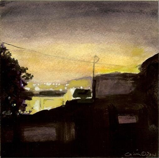 Night, Toward Figueroa