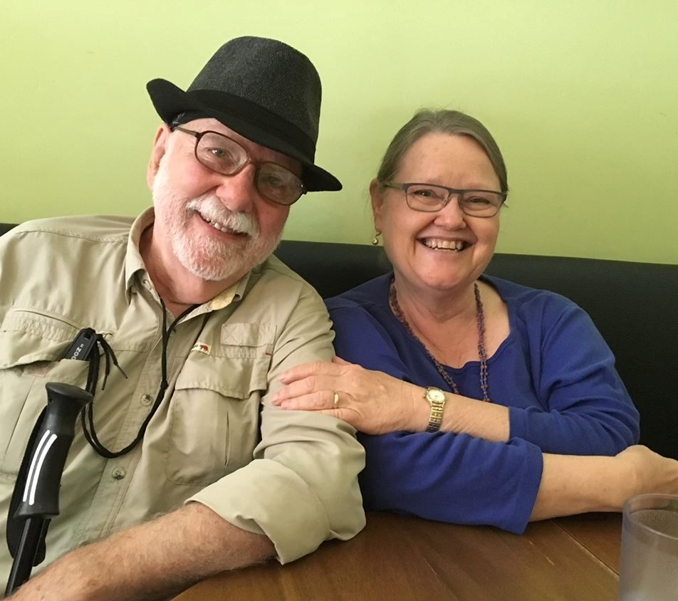 Ted Waltz and Carol Colin