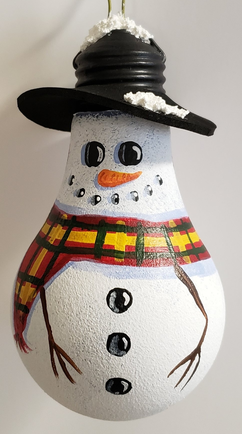 Christmas Ornament - Snowman #1