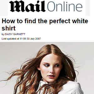 How to find the perfect white shirt.