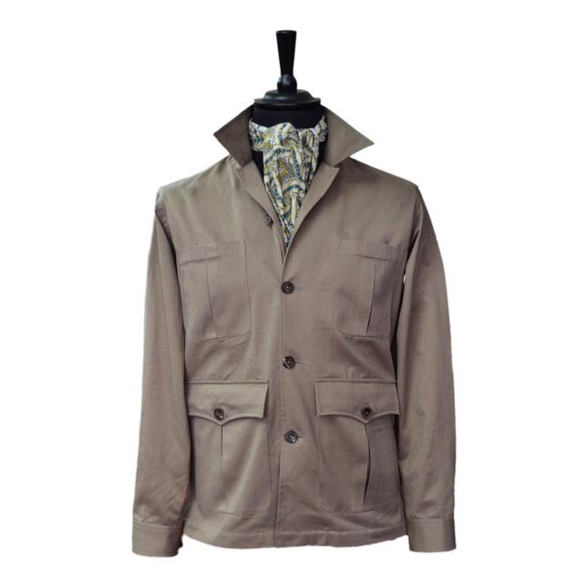 Bespoke Safari Style Jacket