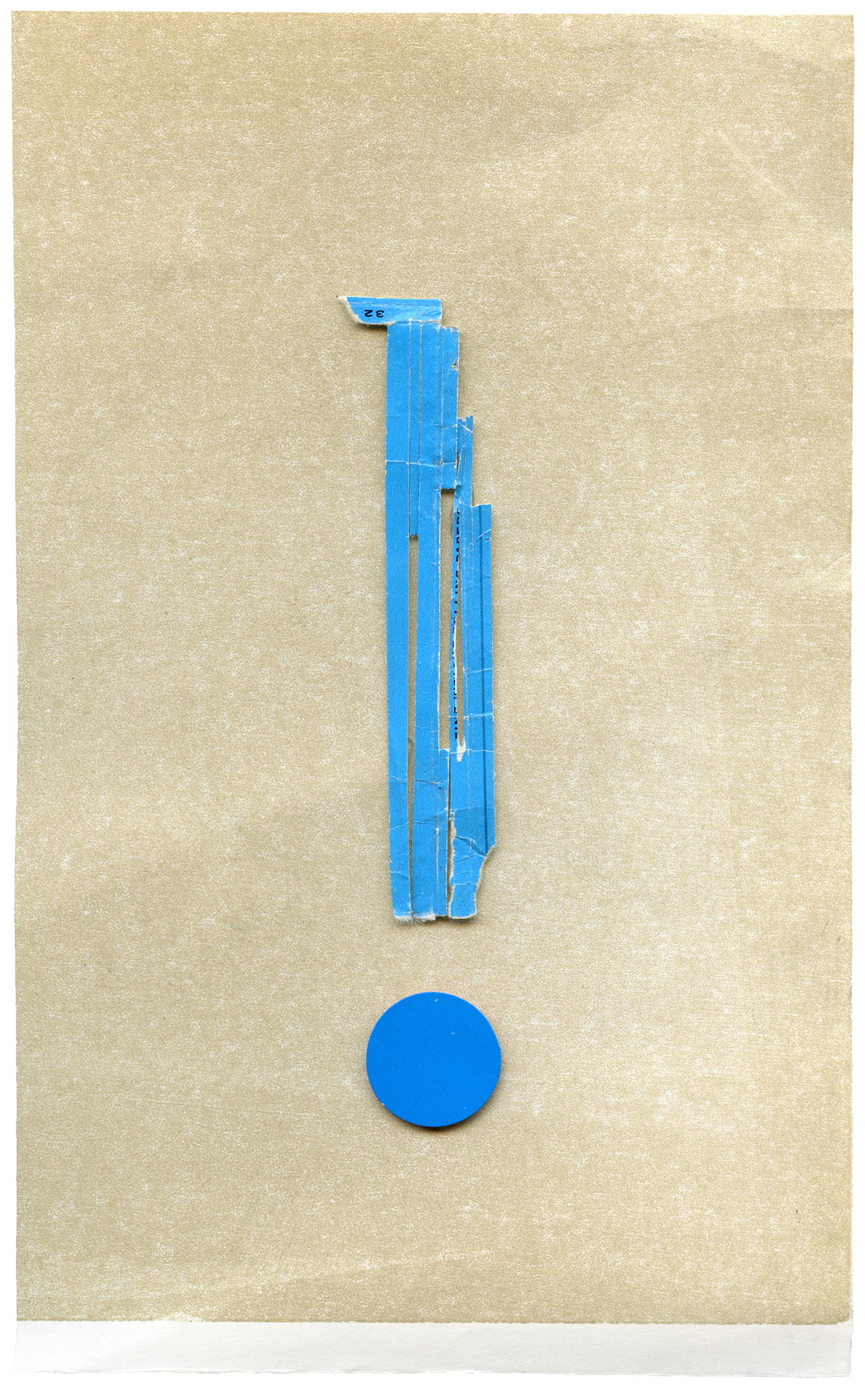 side effect  collage on paper, 19 x 32 cm