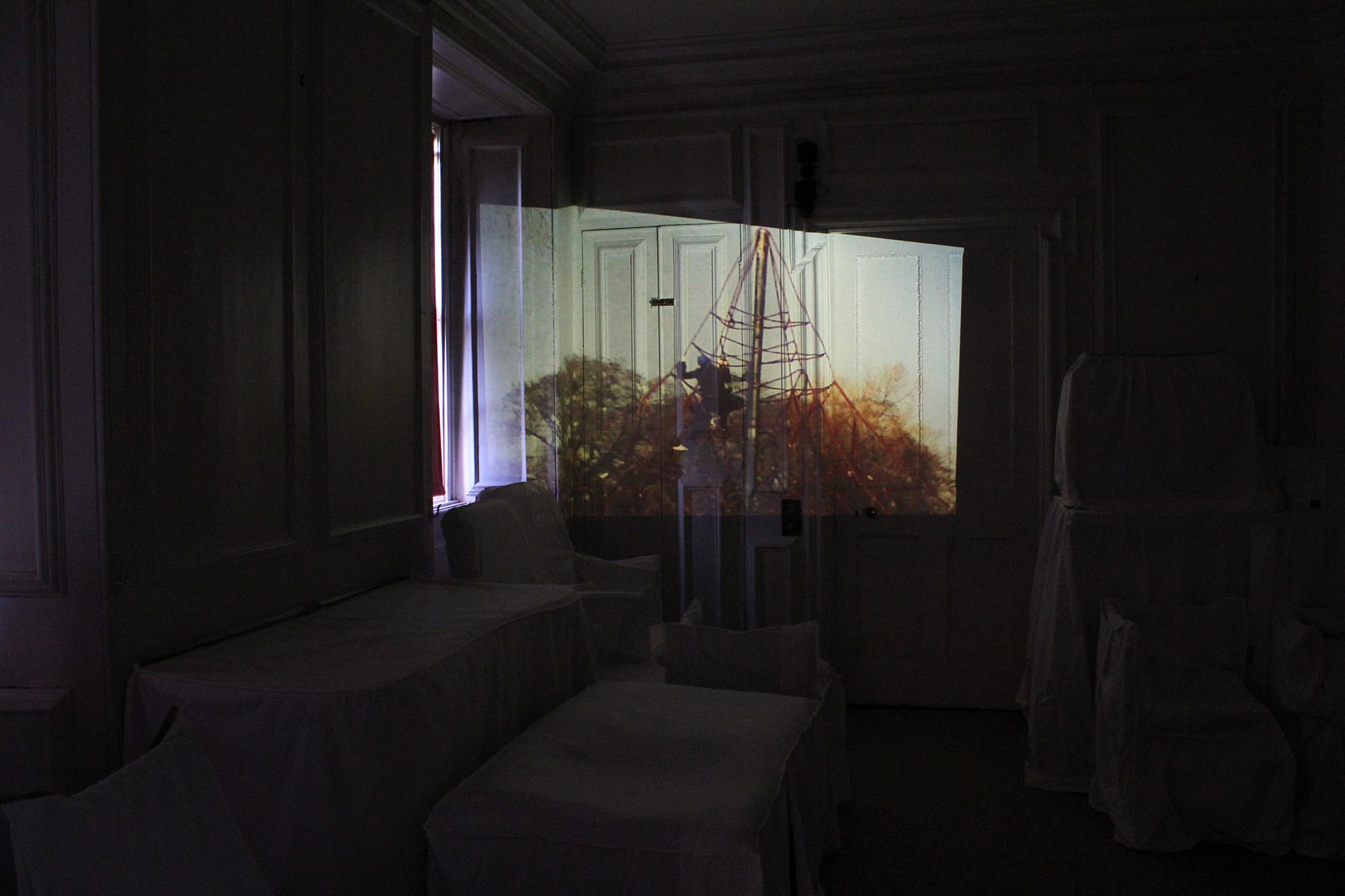 ideogram  35mm slide projection