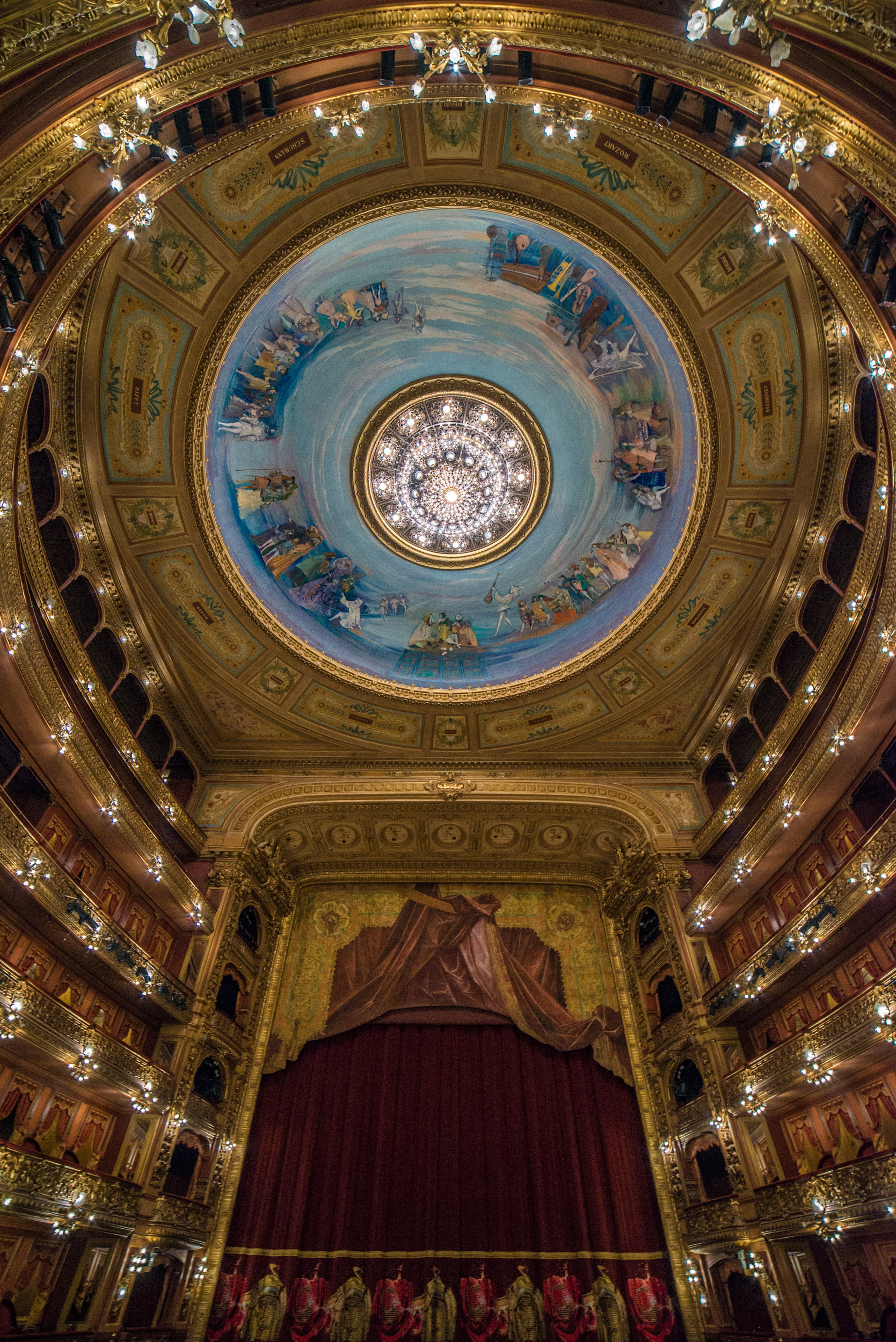 Teatro Colon Ceiling