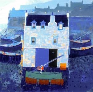 #3 - George Birrell's Scottish moody-blues sea-salt castle.