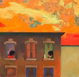 #5 - Ezra Jack Keats' city brick block. Guaranteed bodega below.