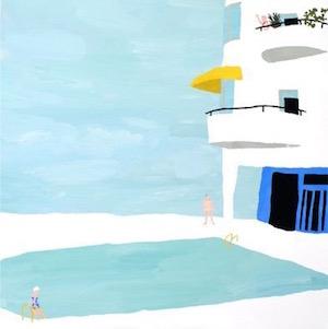 #8 - Natsuki Camino's bleached bones plaster pool house.