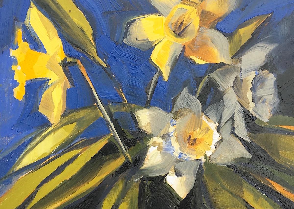 Daffodils Oil Painting.jpg