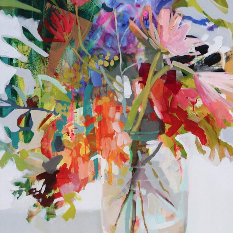 - Erin Gregory's juicy dripping bouquets.
