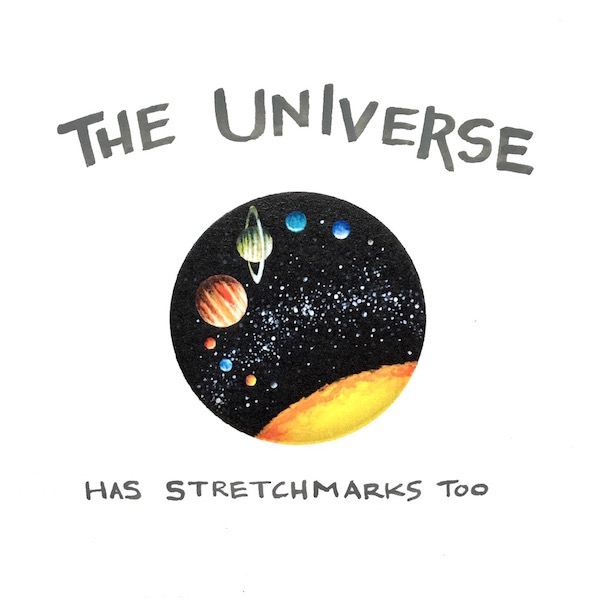 The Universe Has Stretchmarks
