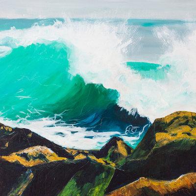 #5   Megan Carty's  aqua ramp explosion