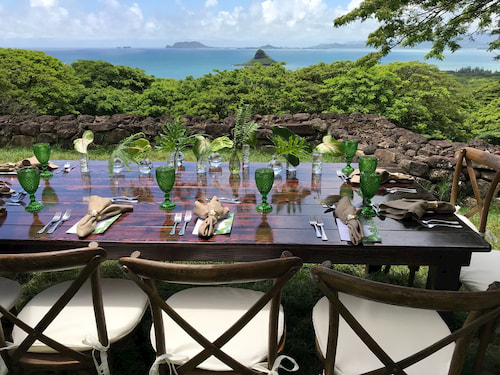 Private Lunch in Hawaii
