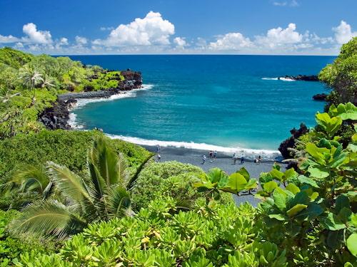 Hawaii paradise on Maui island