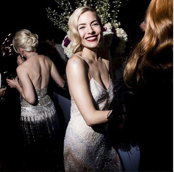 SIENNA MILLER - Vanity Fair Oscar Party, 2018