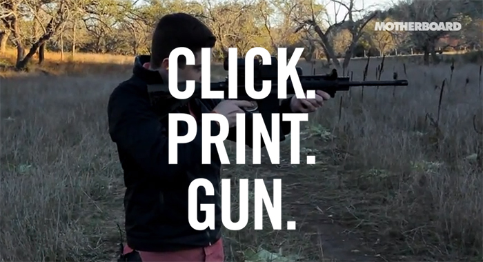 """Click. Print. Gun."" - Role: ProducerProduction: VICE Media LLC (2013)"