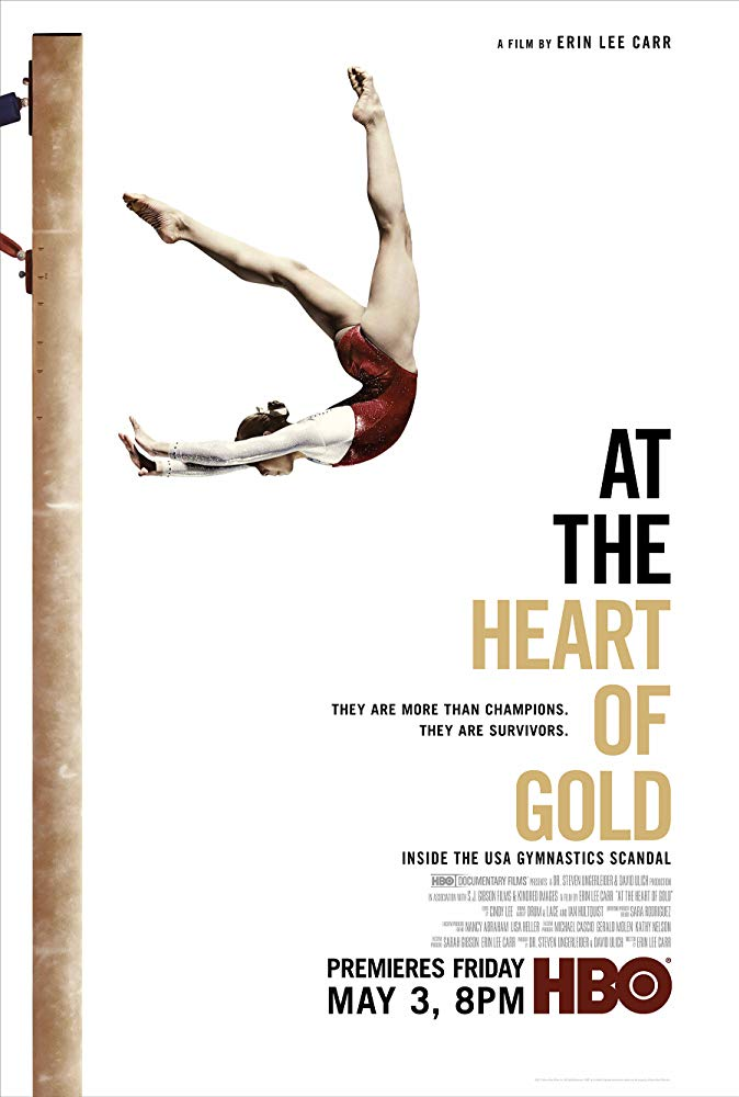 """At The Heart of Gold: Inside the USA Gymnastics Scandal"" - 2019 Tribeca Film Festival Premiere. Now streaming on HBO."