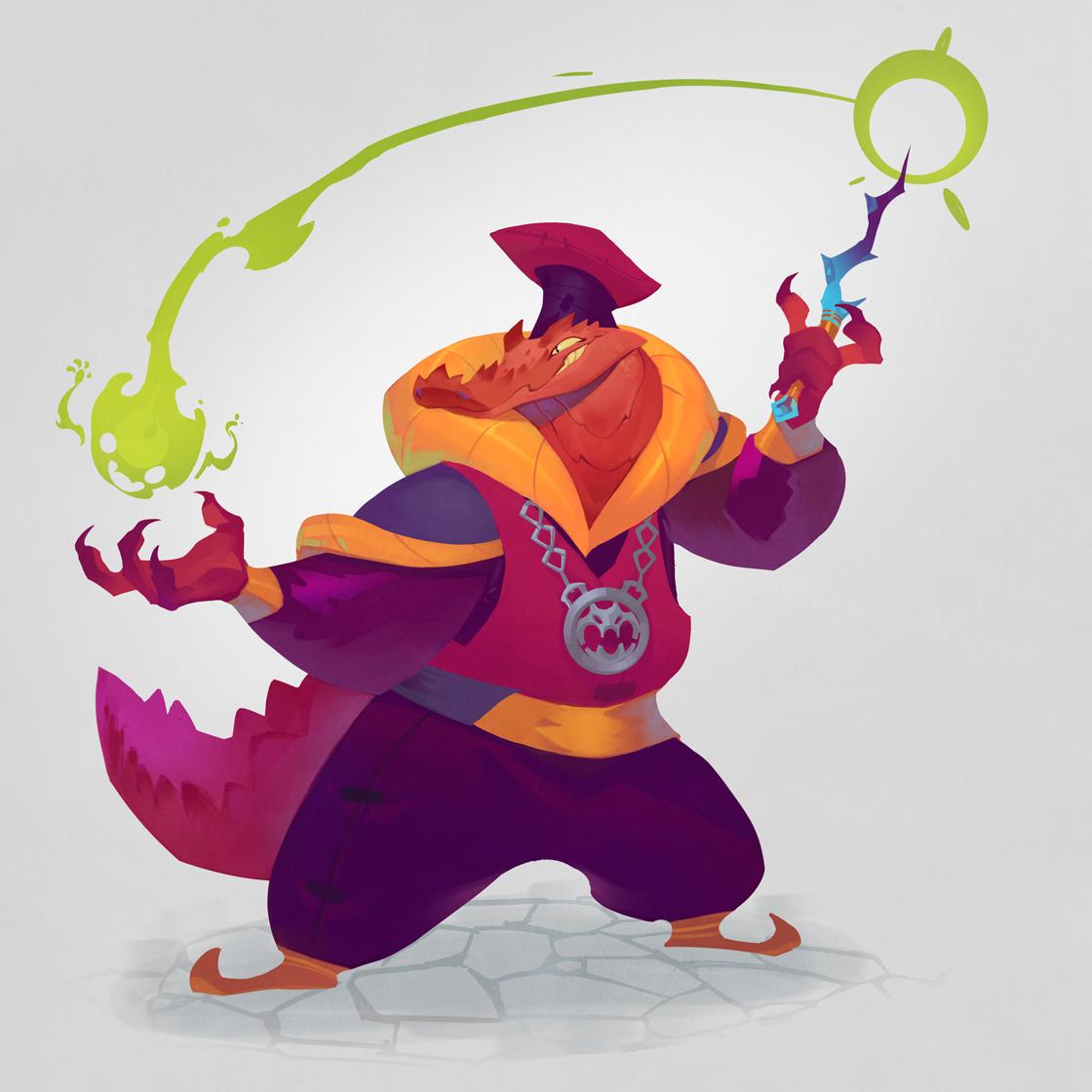 Jabronio, the Dragonborn Magician