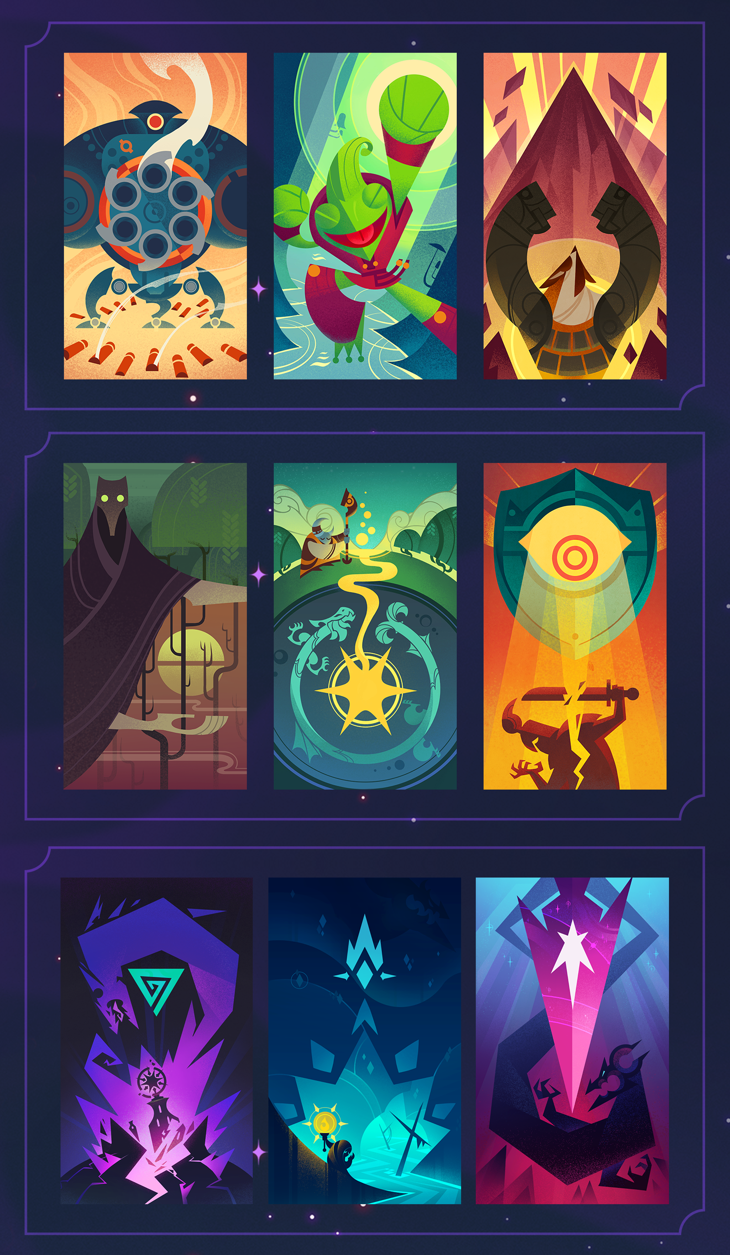 Gigantic: Fortune Cards