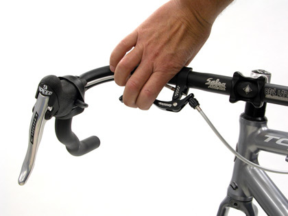 Inline brake levers for drop bars