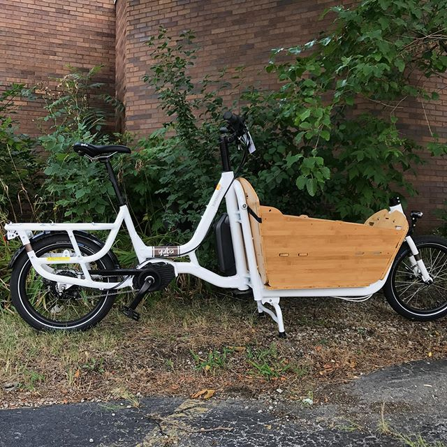 Forget the minivan! With the Back To School specials from @yubabicycles you can get everyone to where they need to be without ever refueling. Plus, we have some of our own seasonal specials thrown into the mix. Details at cosmicbikes.com/storefront  #cargobike #familybike #cosmicbikes #backtoschool
