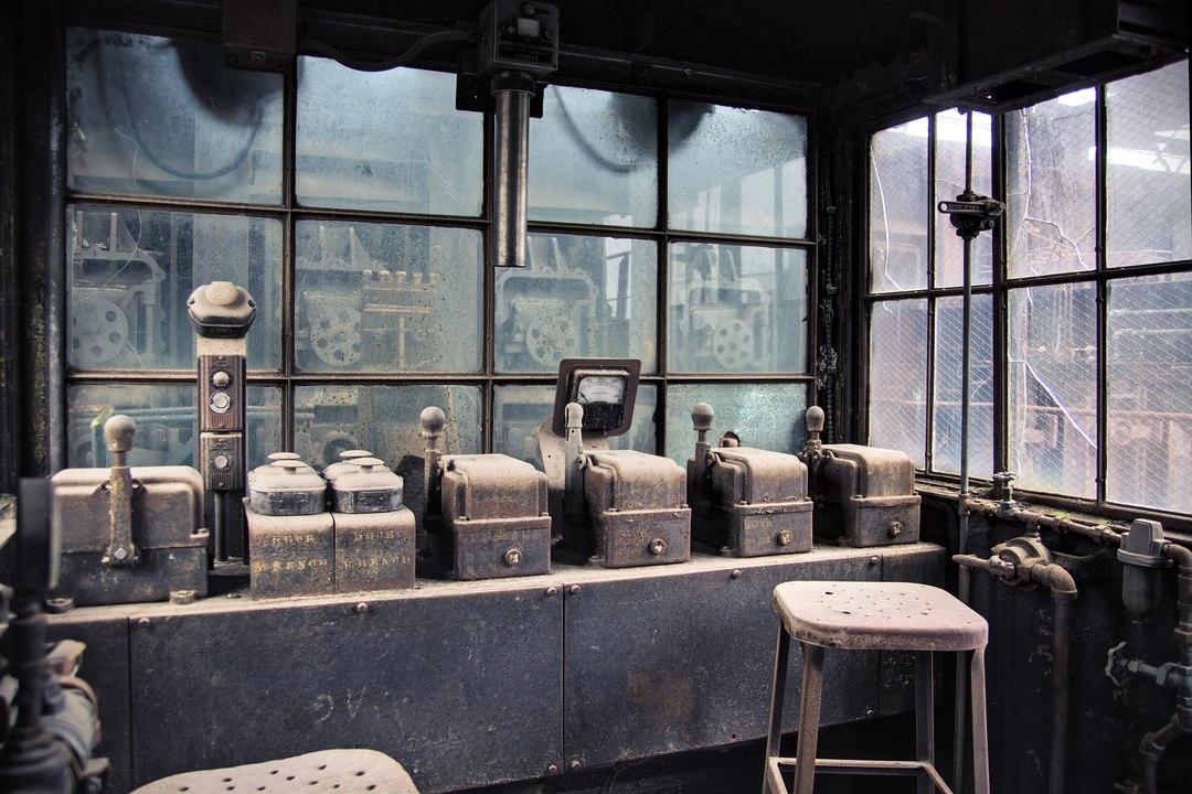 Pusher Machine Control Room c.2009
