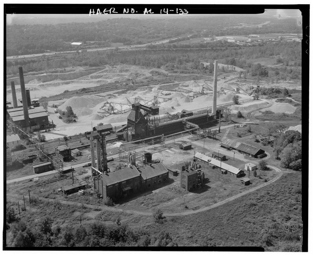 Aerial View c.1992 (Public domain photo)