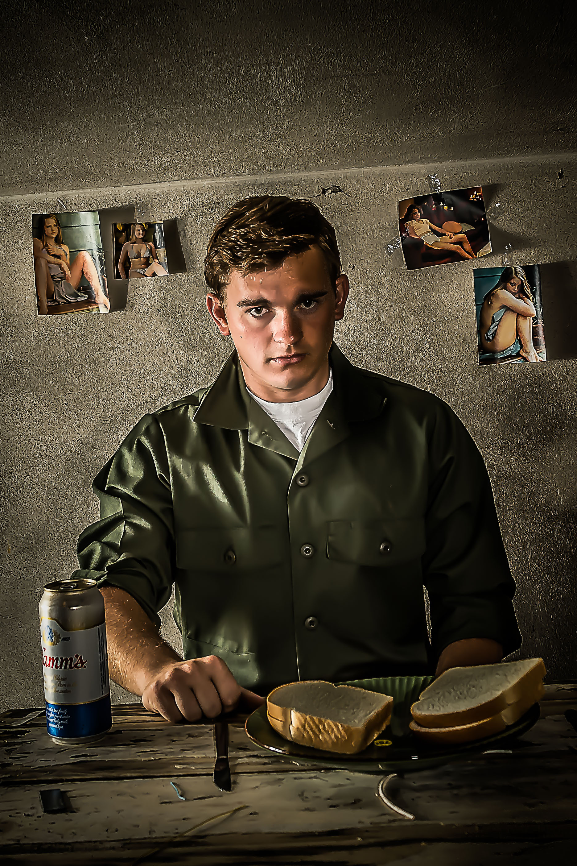 Shawn Hunt as John Hinkley in 'Assassins'