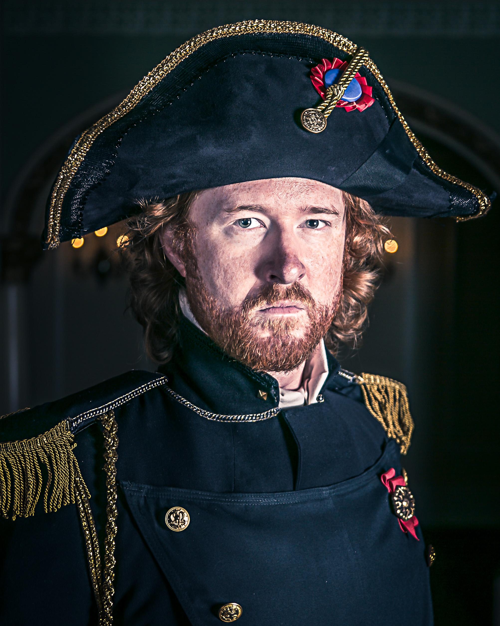 Daniel J Bell as Javert in 'Les Miserables'