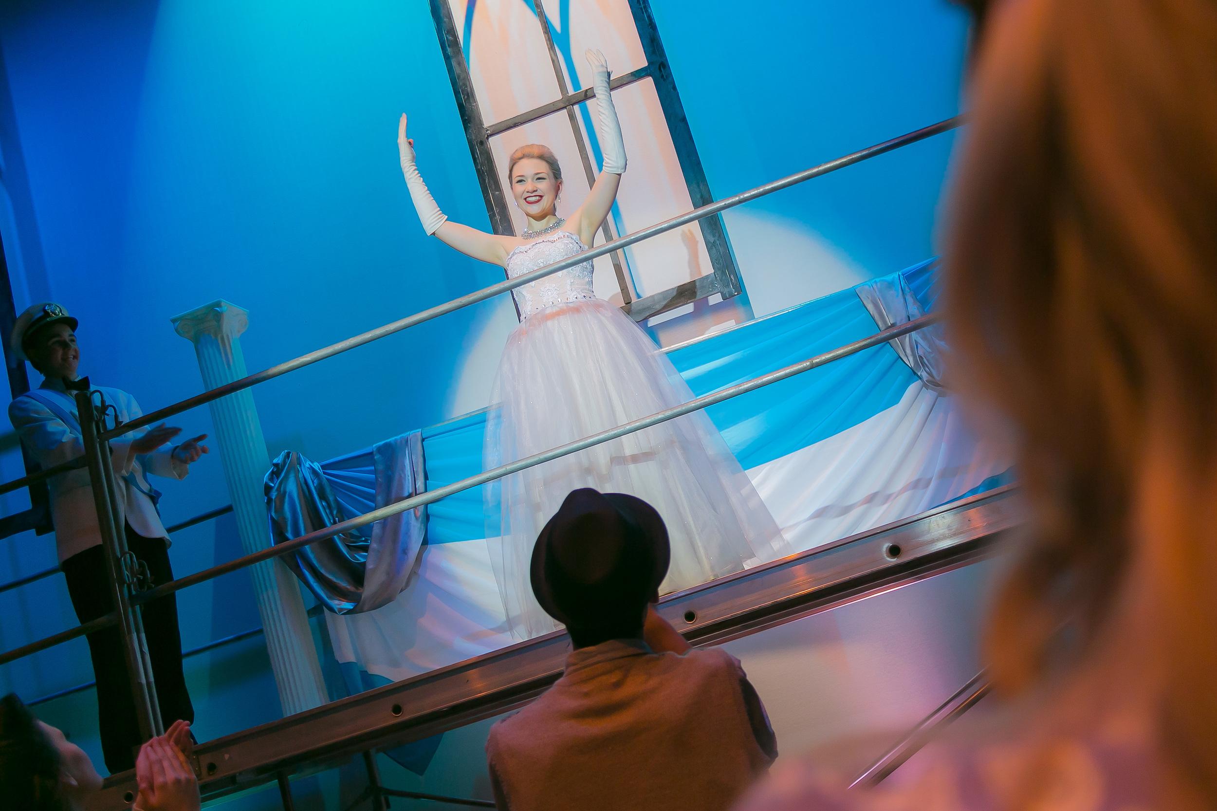 Caitlin McLennan as Evita Peron
