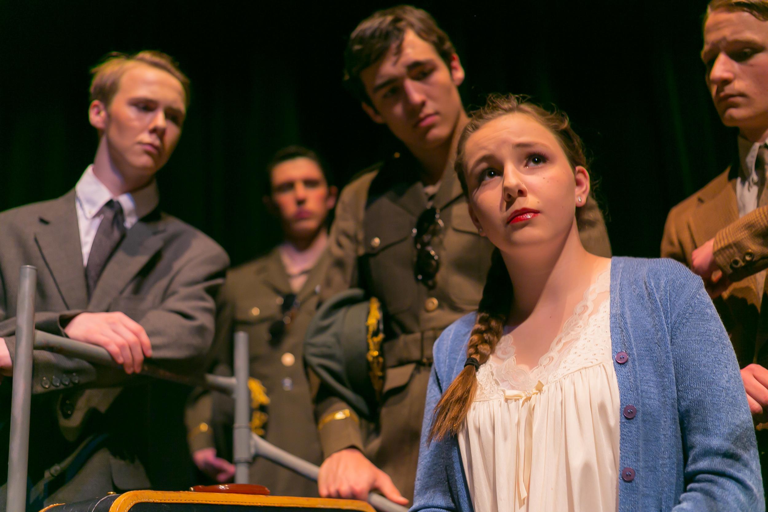 Sophie Williams in 'Evita'